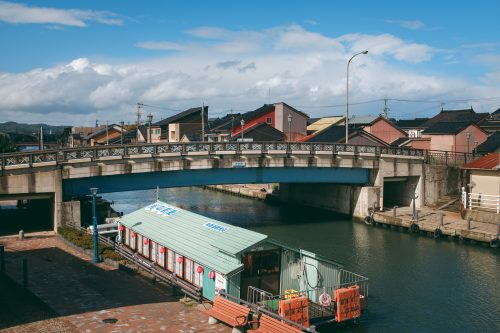 "The Uchikawa district of Takaoka city is the ""Little Venice of Japan"""