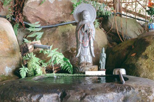 Pure fresh water on the way to Nisseki Temple, Toyama.