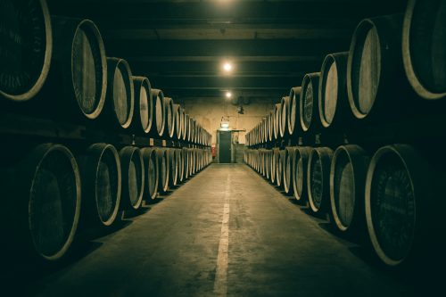 Whiskey Futs at Yamazaki Distillery, Osaka, Kansai Region, Japan