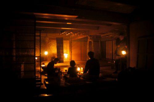 Fuben-ya, maison traditionnelle sans électricité ni eau courante dans la région du San'in, Japon