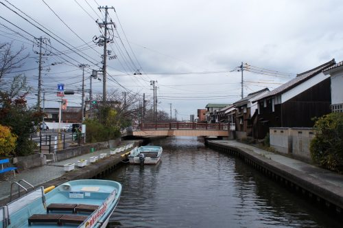 Cruise on the Kamogawa River in Yonago, San'in Region, Tottori, Japan