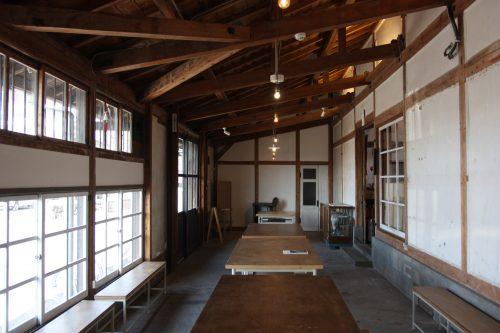 Espace communautaire au Sorriso riso, café et lieu de vie branché et cosy à Chiwata, préfecture de Nagasaki