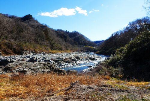 La vallée de Nagatoro, près de Chichibu dans la préfecture de Saitama, Japon