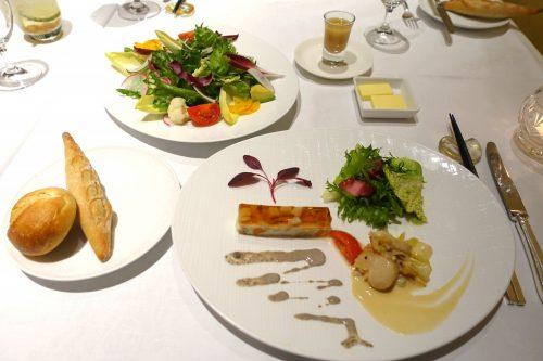 Repas gastronomique au restaurant français de l'hôtel Odakyu highland à Hakone, Kanagawa, Japon