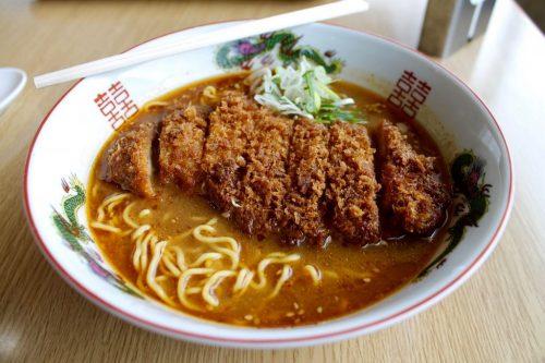 Asahidake, Hokkaido : ramen au restaurant de la station de téléphérique