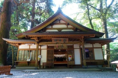 Le sanctuaire shintoïste de Takachiho, Miyazaki, Kyushu