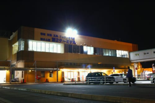 Le terminal de ferry à Hakata, Fukuoka