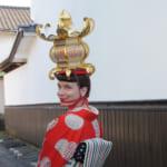Yamaga : promenade en kimono ancien dans la ville des lanternes