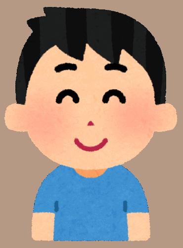 Illustrazione di un ragazzino sorridente