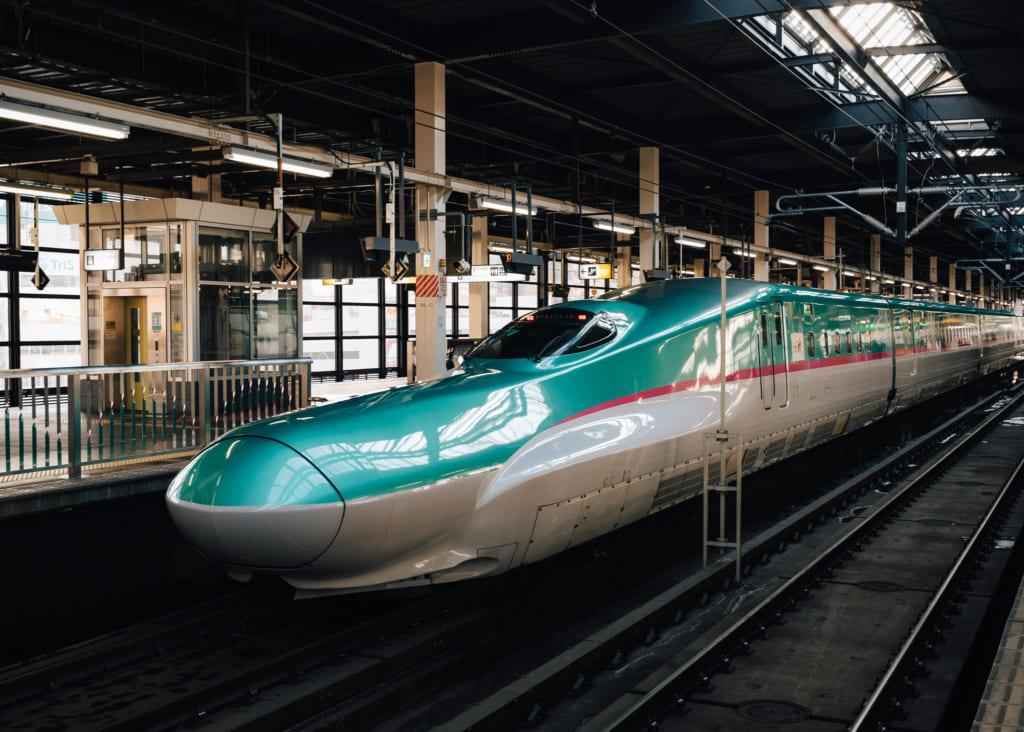 treno elettrico Shinkansen in Giappone