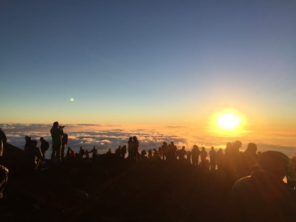 Alba dal Monte Fuji