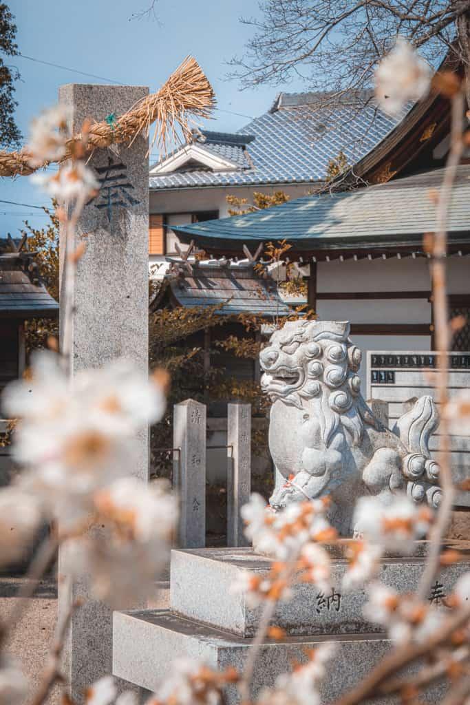 Komainu, guardiano del santuario