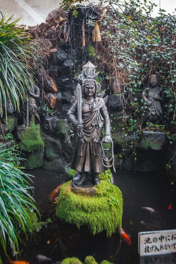 Fudo Myoo, divinità buddista