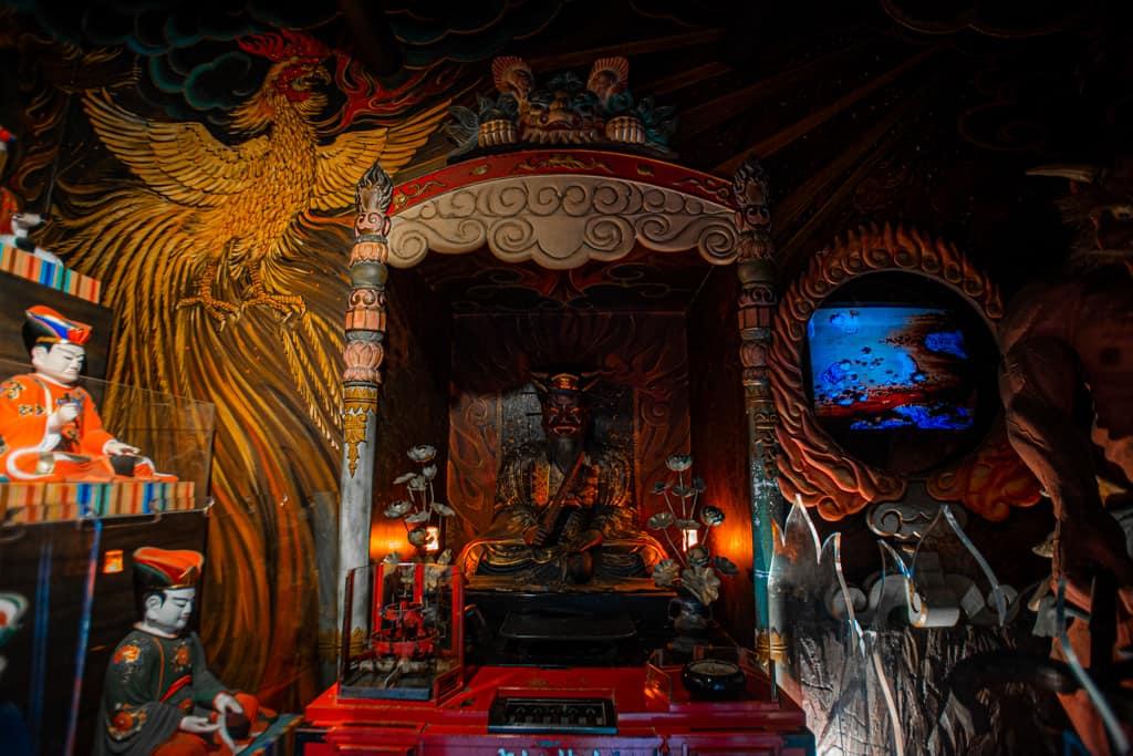 Enma, guardiano degli inferi, Tempio di Senkoji, Osaka
