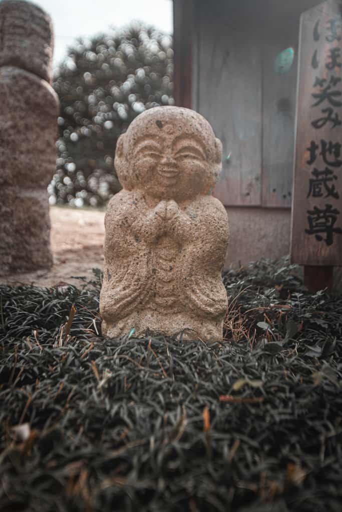 Statua di Jizo nel Tempio Senkoji, Osaka