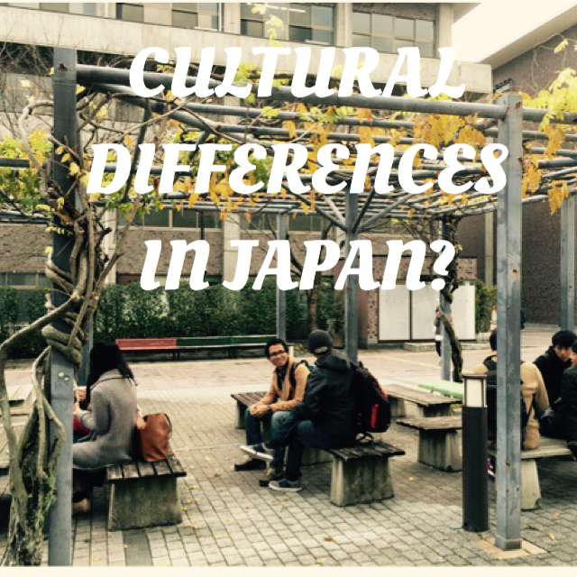 Bridging the student's cultural differences in Japan