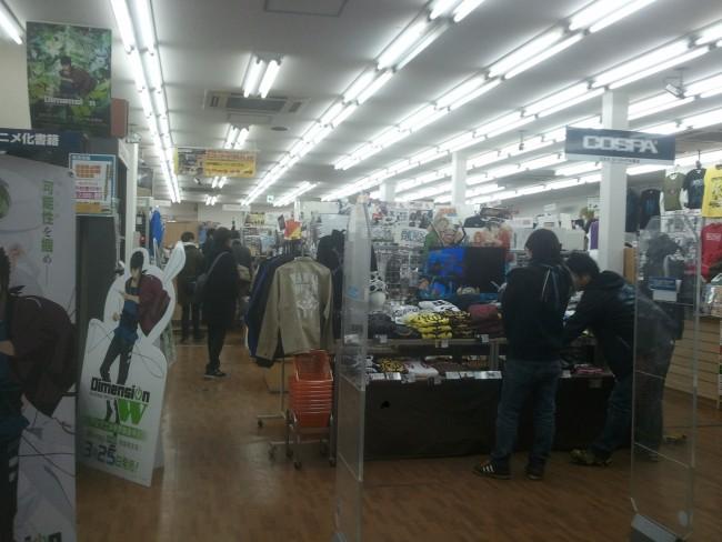 anime shop at Den Den Town, Osaka's anime street