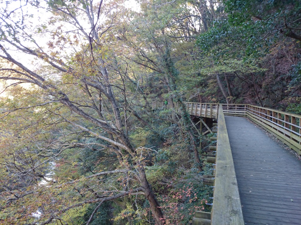 bridge in Hoshida-Enchi Park in Osaka offers outdoor Walking and fantastic views