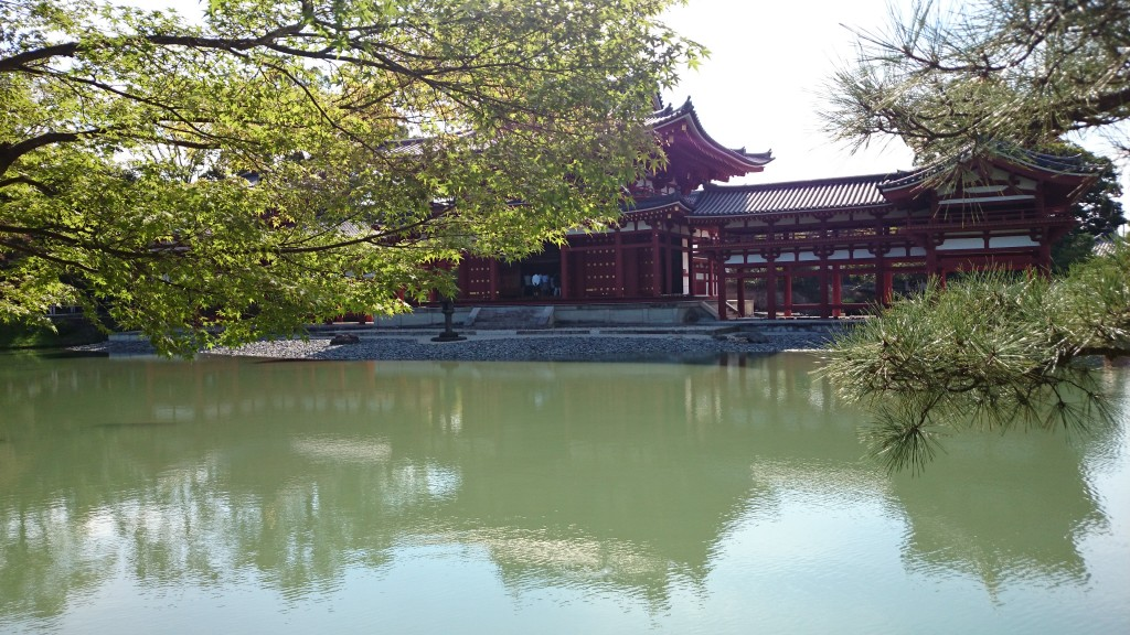 Byodin Temple in Uji, Kyoto, famous for it's Matcha