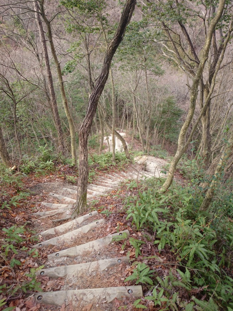 trail in Hoshida-Enchi Park in Osaka offers outdoor Walking