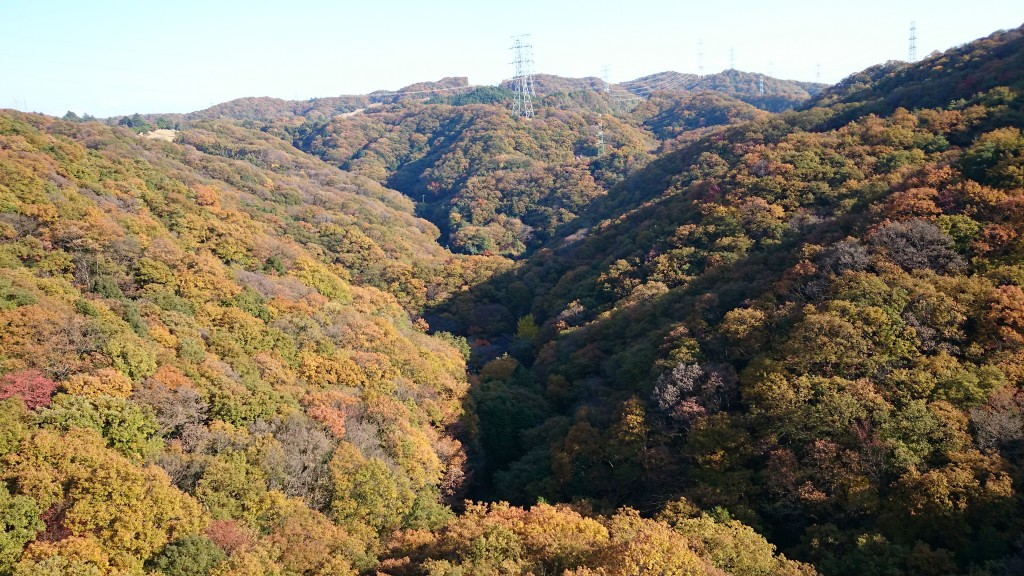 beautiful mountain view of Hoshida-Enchi Park in Osaka offers outdoor Walking