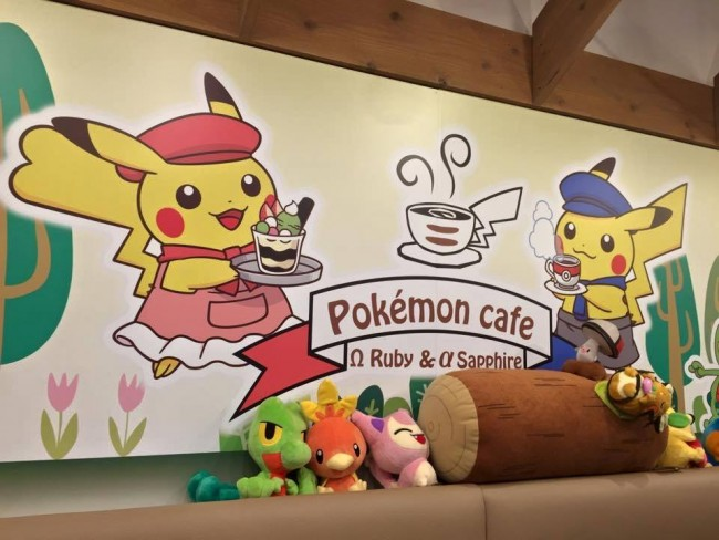 limited time cafes/restaurants often pop=-up in Japan such as the pokemon cafe