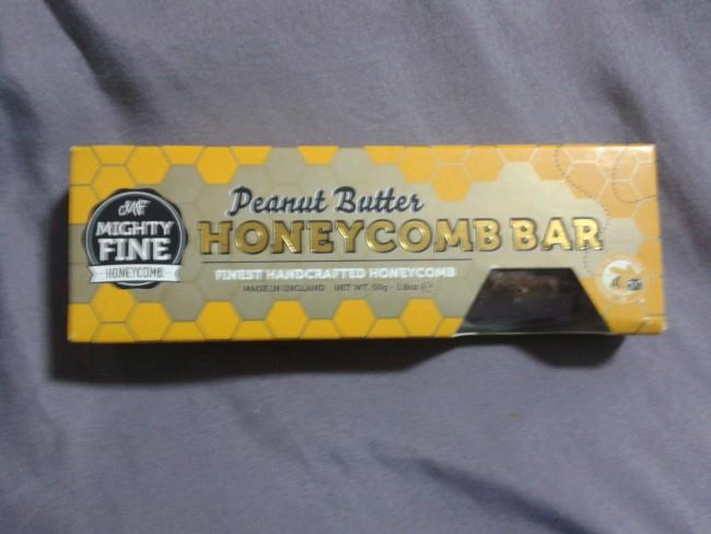 Western sweets, Peanut Butter Honeycomb Bar