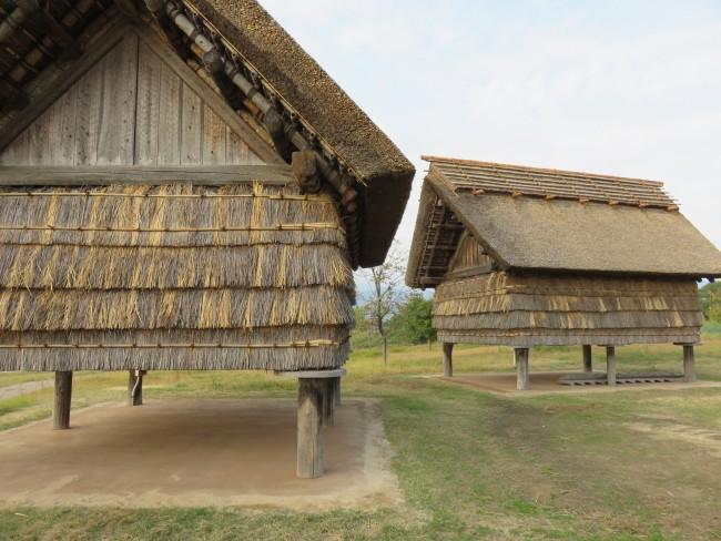 Yoshinogari Historical Park rural huts