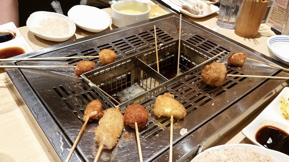 Tasting the fried delight from Osaka, kushikatsu