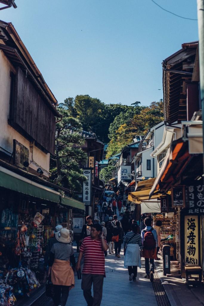 Day-trip: towns of Enoshima