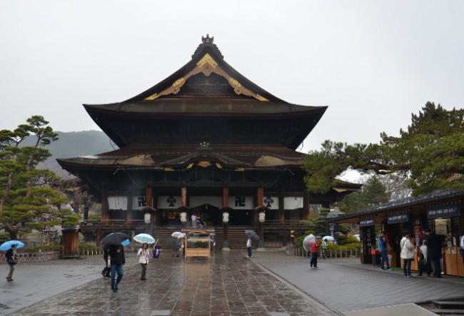 Nagano developed around Japan's famous Temple, Zenkoji