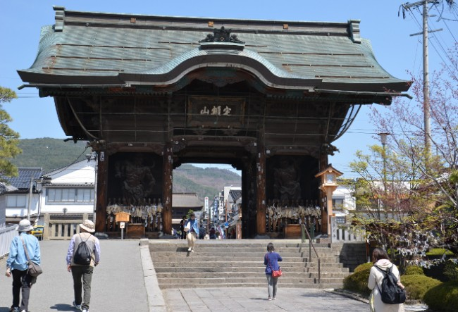 Zenkoji Temple in Japan is one of the most famous