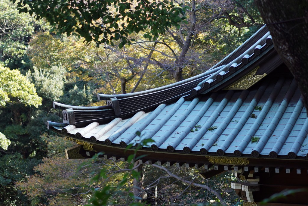 Day-trip: Enoshima temple rooftops
