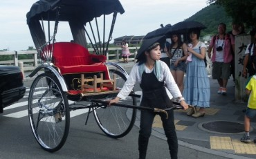 taxi, Japan, transport, rickshaw, invention, guide