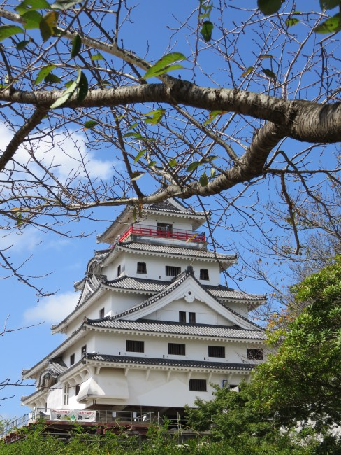 Karatsu castle in the city, Saga