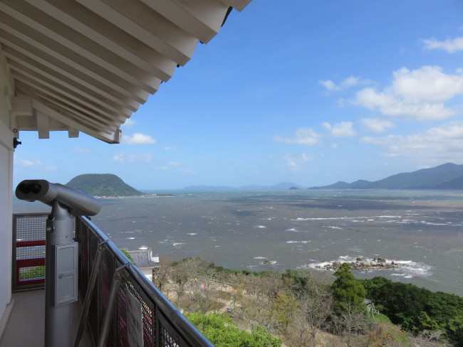 landscape of Karatsu city, Saga