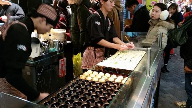 Takoyaki, Takoyaki, and more Takoyaki in Osaka!