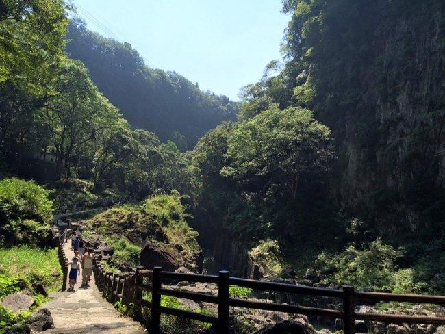 Path by Takachiho Gorge