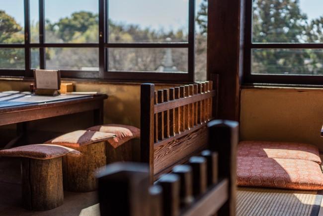 Soba Restaurant in Kamakura: Rai Tei furniture and interior