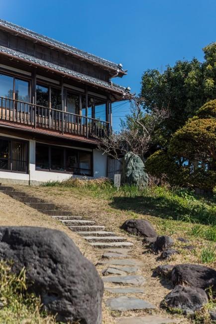 Soba Restaurant in Kamakura: Rai Tei , steps