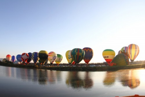 Beautiful Saga international balloon festival