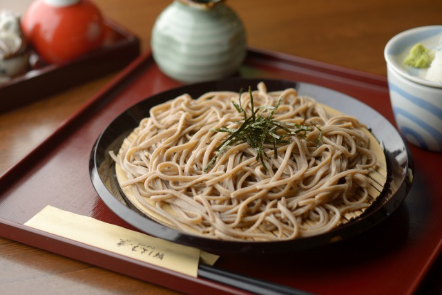 Soba is the one of japanese noodles and you'll find the restaurant which serve soba around Tokyo