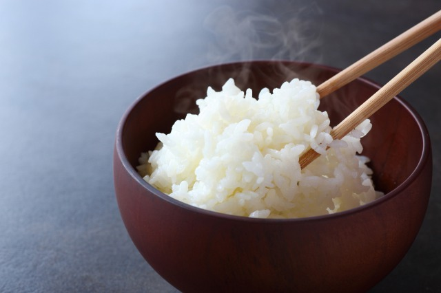 Japanese rice is the basic food for Japanese cuisine.