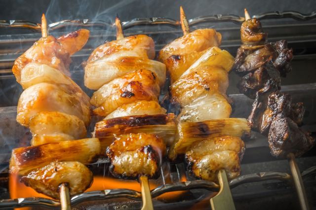 Yakitori is one of the typical japanese food which is rich in high protein,raging from salty taste to soy sauced taste