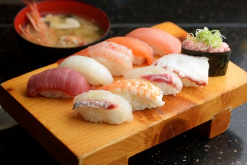 sushi is one of the most famous Japanese food
