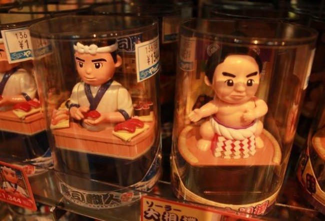 nakano broadway in Tokyo is host to some serious collectible shopping in Japan