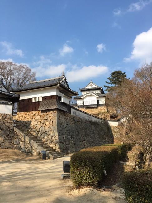 Okayama Bitchu Takahashi Matsuyama Castle, one of the oldest in Japan, includes Hiking