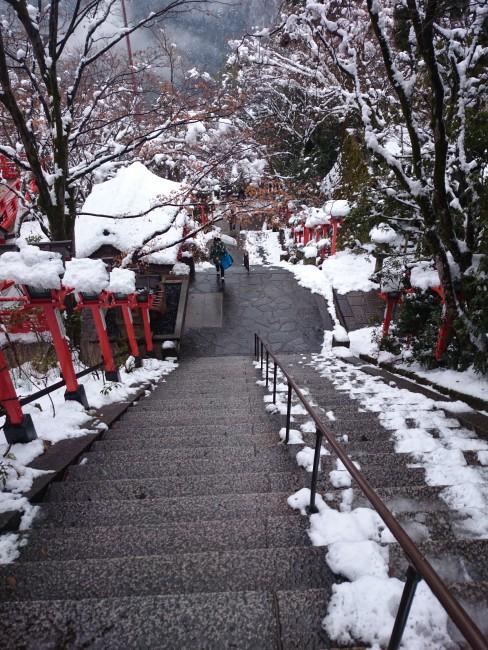Rich grounds of Kurama Temple