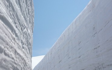 Snow, Alpine, Dam, Route, Wall