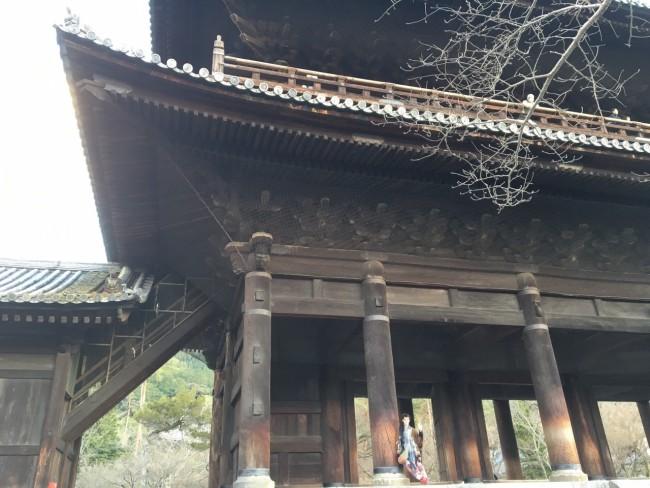 Sights walking the Kyoto Philosopher's Path: Nanzen-ji temple